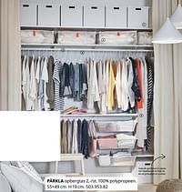 Pärkla opbergtas-Huismerk - Ikea