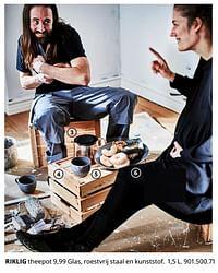 Riklig theepot-Huismerk - Ikea