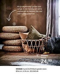 Snidad mand-Huismerk - Ikea