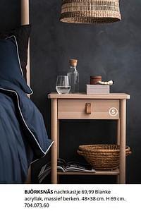 Björksnäs nachtkastje-Huismerk - Ikea