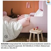 Busunge meegroeibed-Huismerk - Ikea