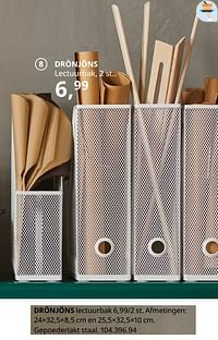 Drönjöns lectuurbak-Huismerk - Ikea