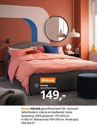 Hauga gestoffeerd bed-Huismerk - Ikea