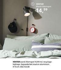Hektar wand--klemspot-Huismerk - Ikea