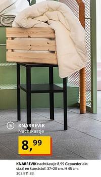 Knarrevik nachtkastje-Huismerk - Ikea