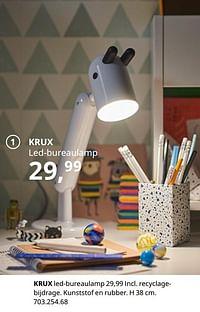Krux led-bureaulamp-Huismerk - Ikea