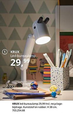 Krux led-bureaulamp