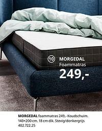 Morgedal foammatras-Huismerk - Ikea