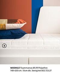 Moshult foammatras-Huismerk - Ikea