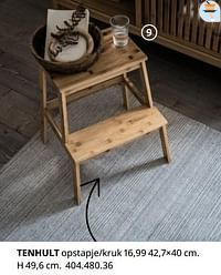 Tenhult opstapje-kruk-Huismerk - Ikea