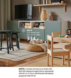 Bestå tv-meubel met deuren en lades
