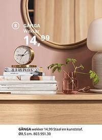 Gänga wekker-Huismerk - Ikea