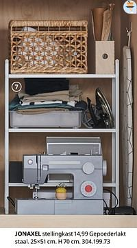 Jonaxel stellingkast-Huismerk - Ikea