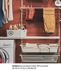 Kuggis bak met deksel-Huismerk - Ikea