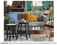 Landskrona 2-zitsbank-Huismerk - Ikea