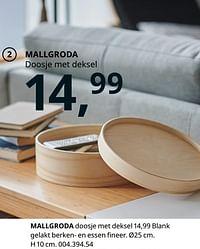 Mallgroda doosje met deksel-Huismerk - Ikea