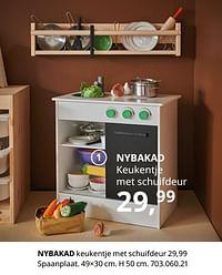Nybakad keukentje met schuifdeur-Huismerk - Ikea