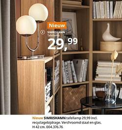 Simrishamn tafellamp