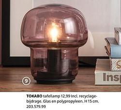 Tokabo tafellamp