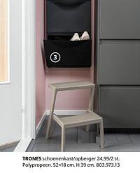 Trones schoenenkast-opberger-Huismerk - Ikea
