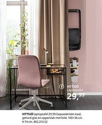 Vittsjö laptoptafel-Huismerk - Ikea