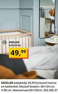 Sniglar babybedje-Huismerk - Ikea