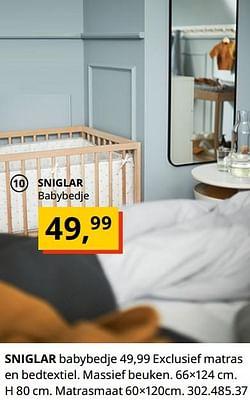 Sniglar babybedje