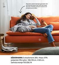 Söderhamn 3-zitselement-Huismerk - Ikea