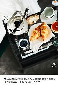 Nissafors roltafel-Huismerk - Ikea