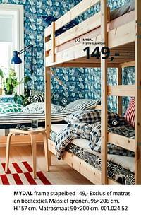 Mydal frame stapelbed-Huismerk - Ikea