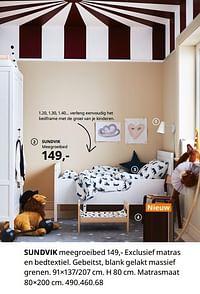 Sundvik meegroeibed-Huismerk - Ikea