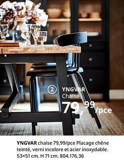Yngvar chaise