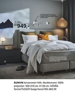 Dunvik lit-sommier