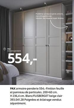 Pax armoire-penderie