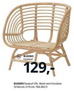 Buskbo fauteuil
