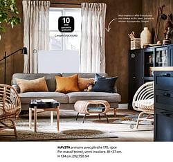Havsta armoire avec plinthe