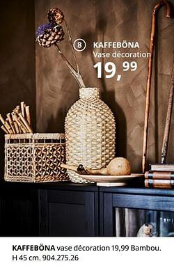Kaffeböna vase décoration
