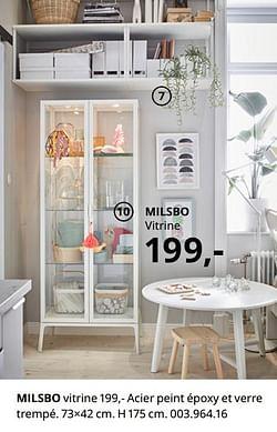 Milsbo vitrine