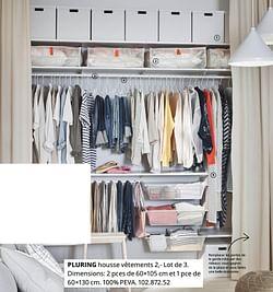 Pluring housse vêtements