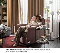 Ekolsund fauteuil confort