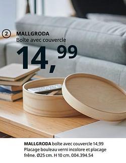 Mallgroda boîte avec couvercle