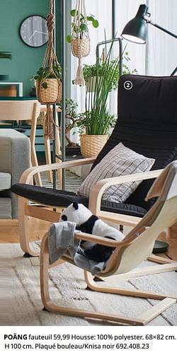 Poäng fauteuil