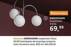 Simrishamn suspension 3 bras