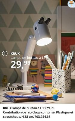 Krux lampe de bureau à led