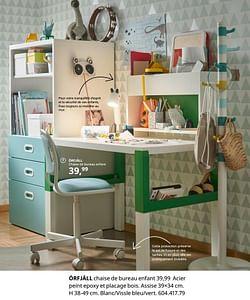 Örfjäll chaise de bureau enfant