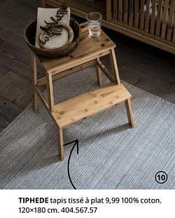Tiphede tapis tissé à plat
