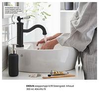 Ekoln zeeppompje-Huismerk - Ikea