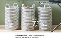 Klunka waszak-Huismerk - Ikea