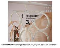 Komplement multihanger-Huismerk - Ikea