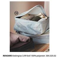Rensare kledingtas-Huismerk - Ikea